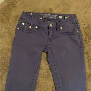 Miss me skinny blue jeans